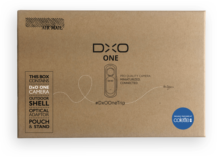 DXO ONE TRIP packaging
